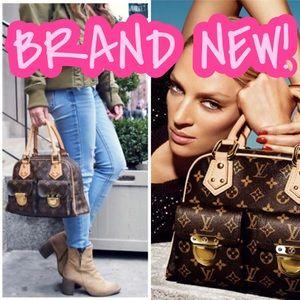 💎✨BRAND NEW✨💎 Louis Vuitton Manhattan PM Auth!